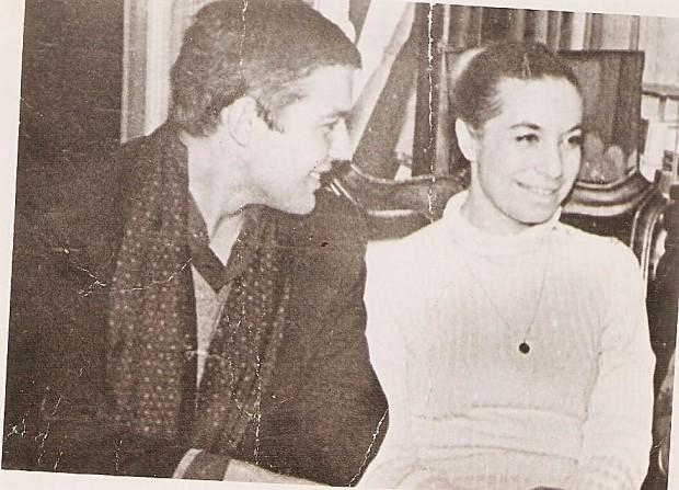 Irina Belogorodskaya and Vadim Delaunay (Moscow, 1971)