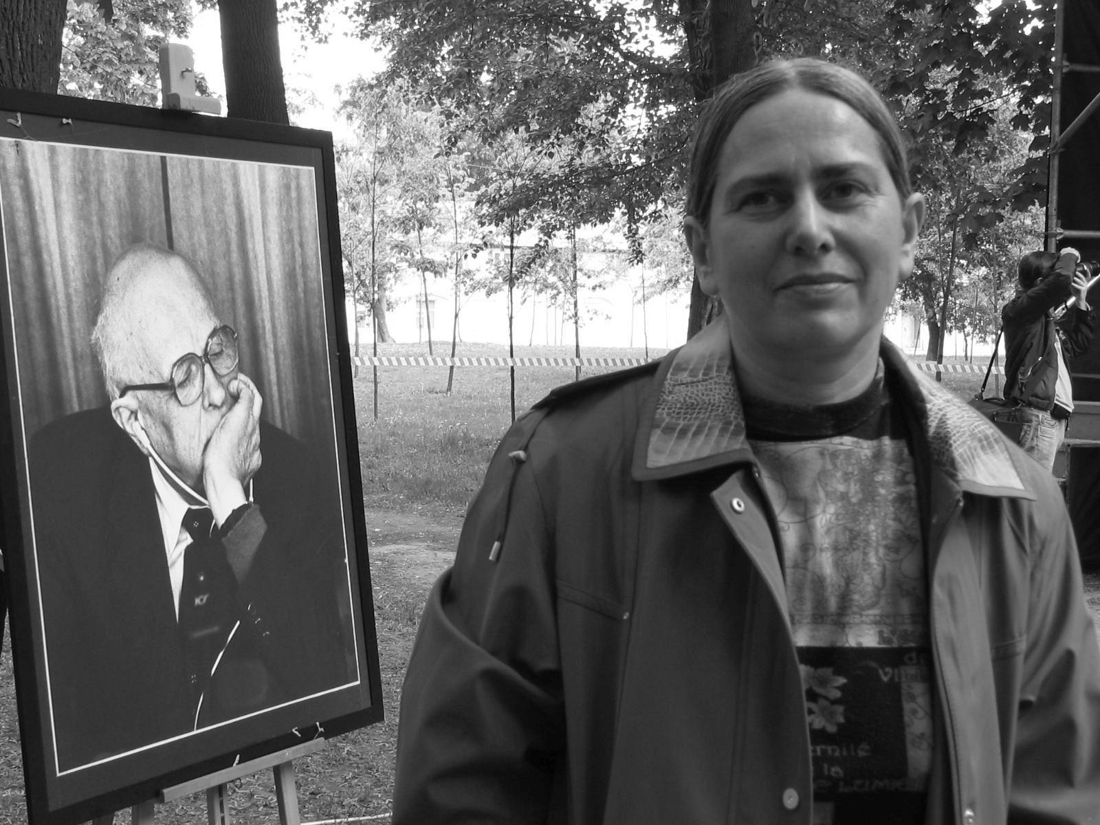 Lena Saninikova, May 2008 (Sakharov Center)