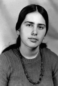 Lena Sannikova, before 1984 arrest